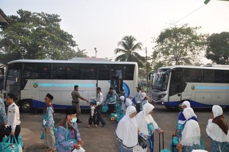 Ft.CJH Tiba di Asrama Haji