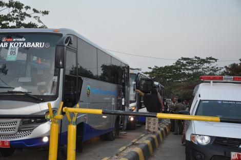 Ft.Perjalanan menuju Asrama Haji